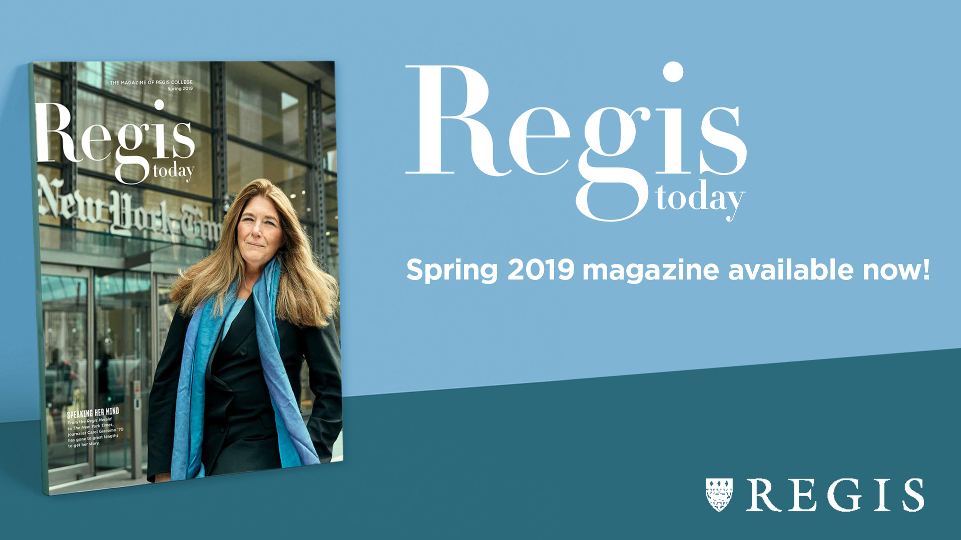 regis today magazine spring 2019