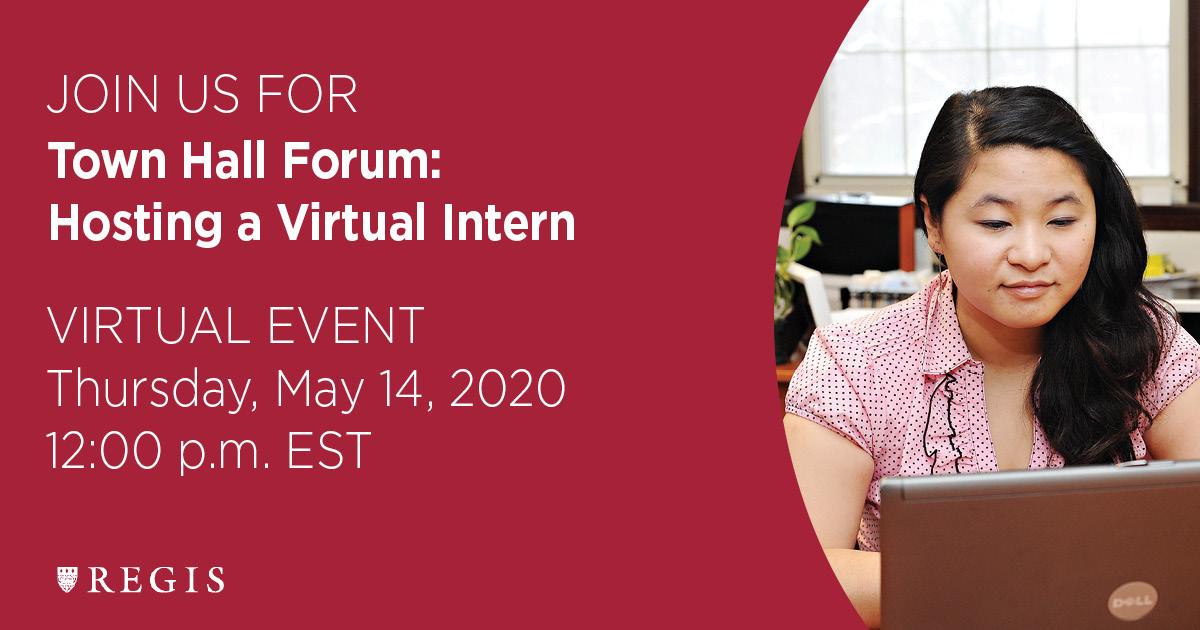 Town Hall Forum: Hosting a Virtual Inter