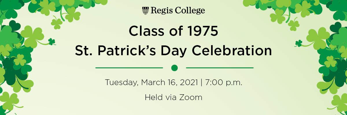 1975 Virtual St. Patrick's Day Celebration