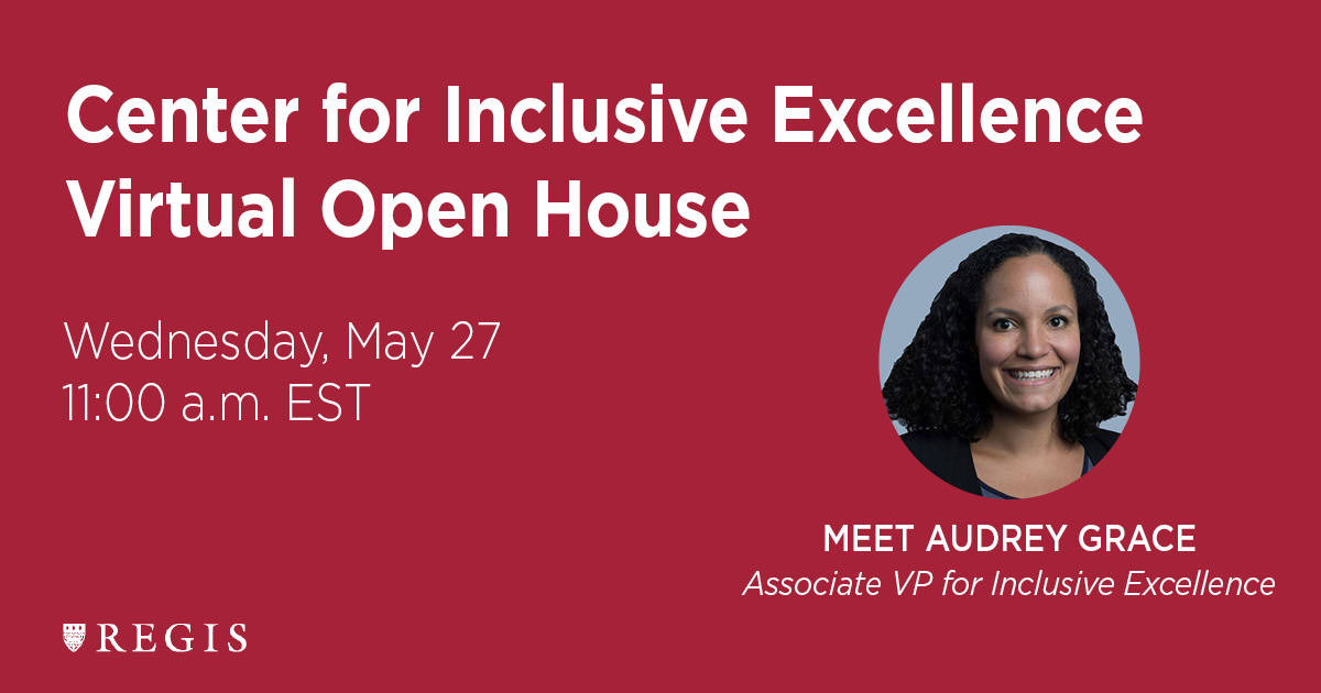 Center for Inclusive Excellence Virtual Open House