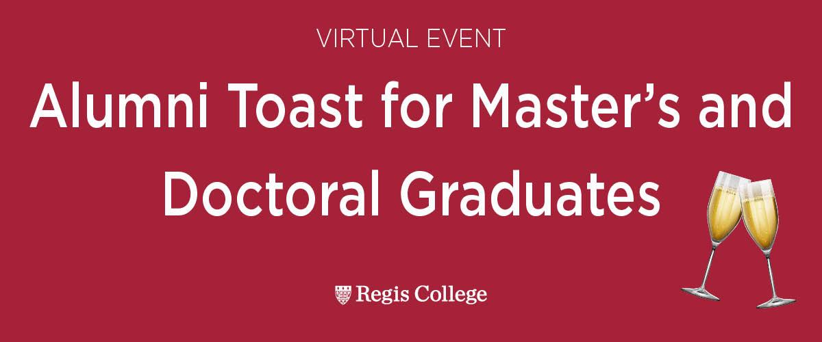 Graduate Alumni Toast