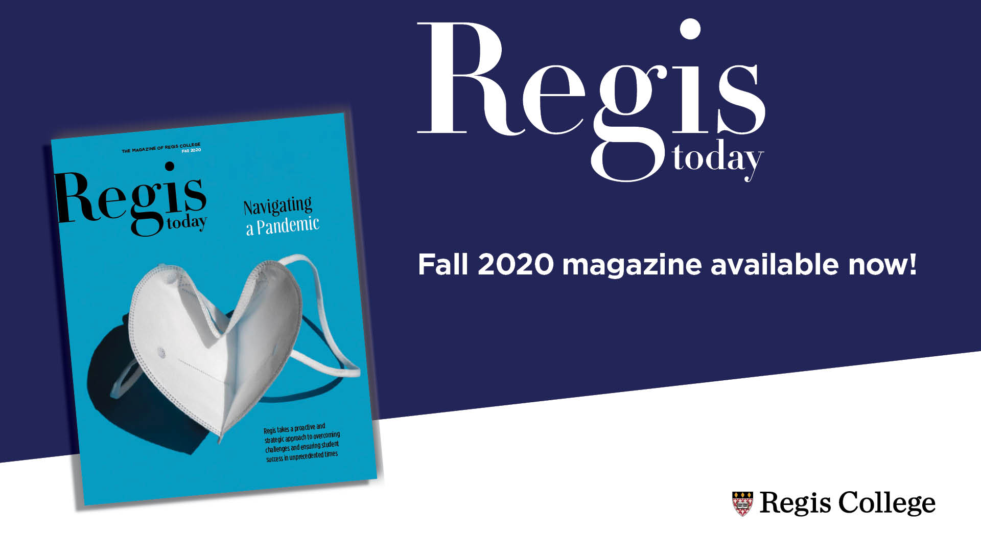 Regis Today | Fall 2020