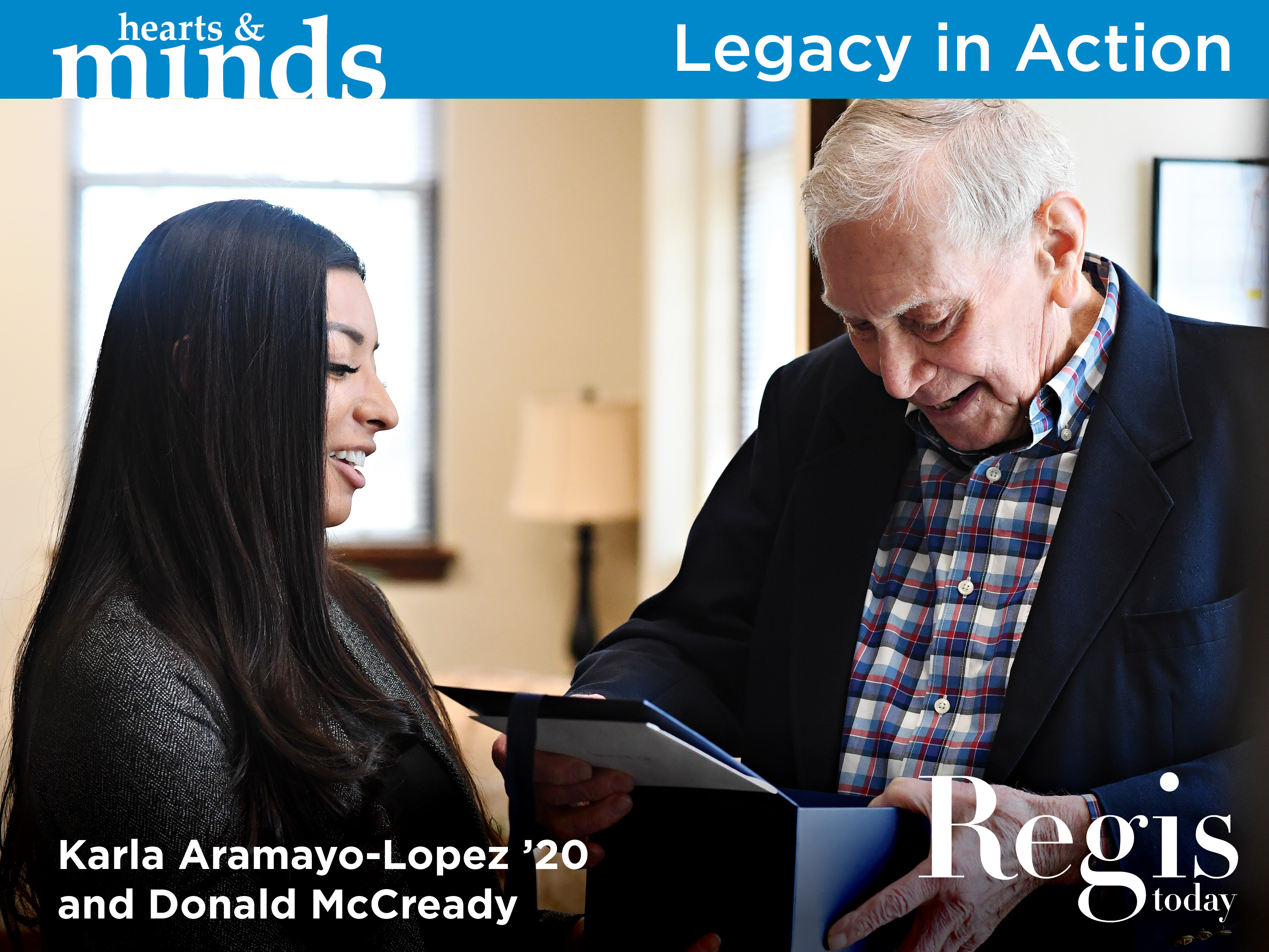 Legacy in Action | Regis Today Summer 2020