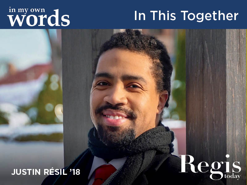 Regis Today | Fall 2020 | In This Together