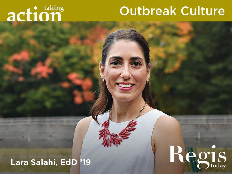 Regis Today | Fall 2020 | Outbreak Culture