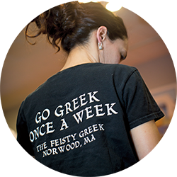 Go Greek once a week - The Feisty Greek Norwood, MA