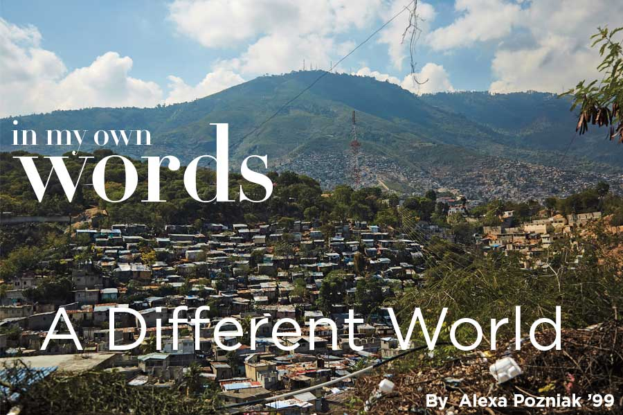 In My Own Words - A Different World cover