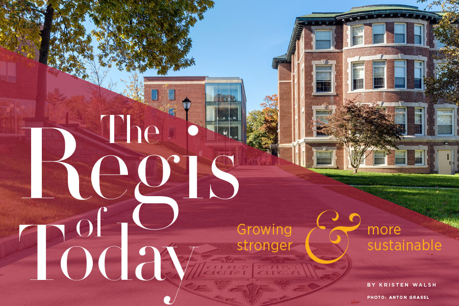 The Regis of Today cover