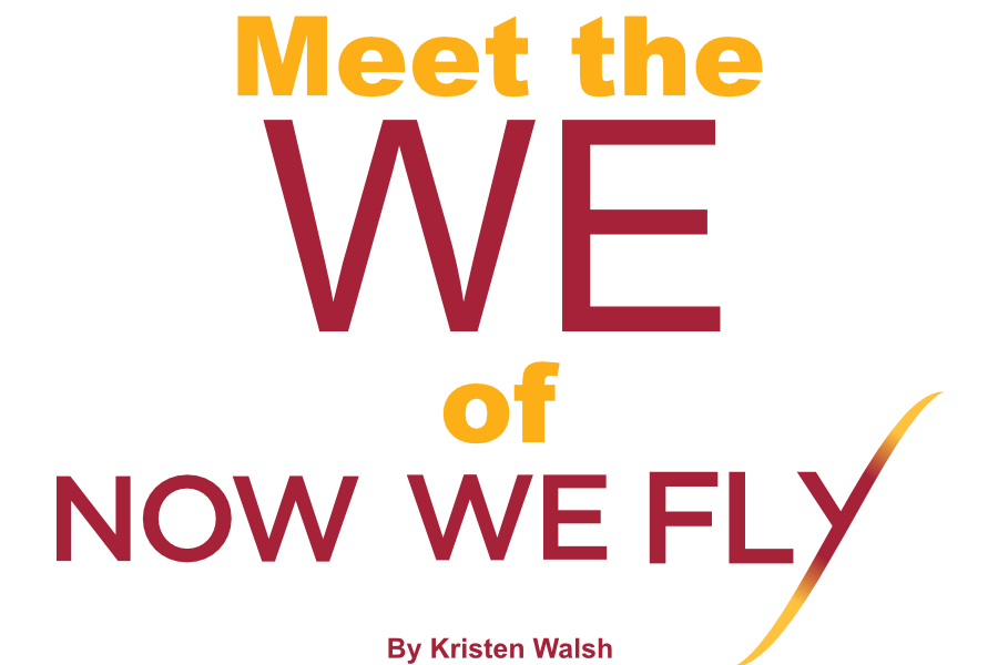 Meet the We of Now We Fly cover