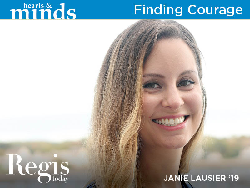 Regis Today | Fall 2020 | Finding Courage
